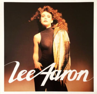 Lee Aaron ‎- Lee Aaron (4th Album) (LP) (VG-/VG)